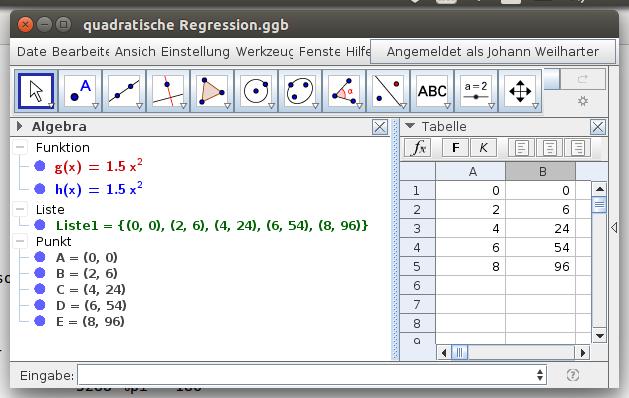 Bildschirmfoto-quadratische Regression.ggb