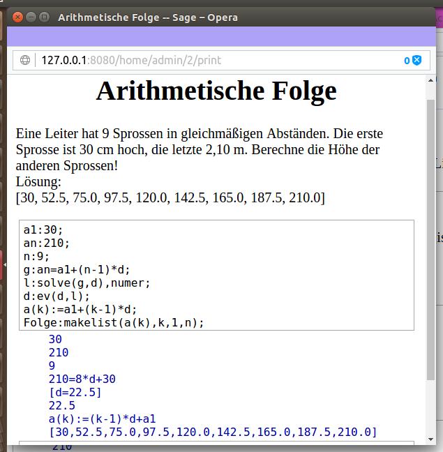 Bildschirmfoto-Arithmetische Folge -- Sage – Opera.png